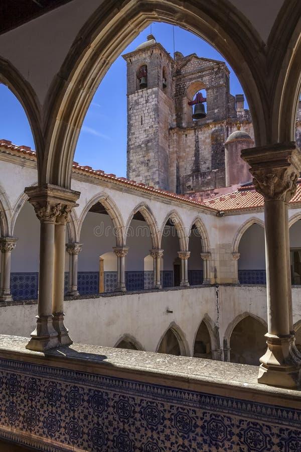 Convento de Templar de Cristo en Tomar fotografía de archivo