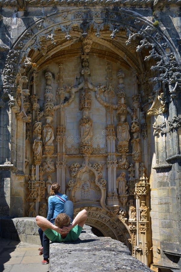 Convento de Templar de Cristo en Tomar, Portugal fotos de archivo libres de regalías