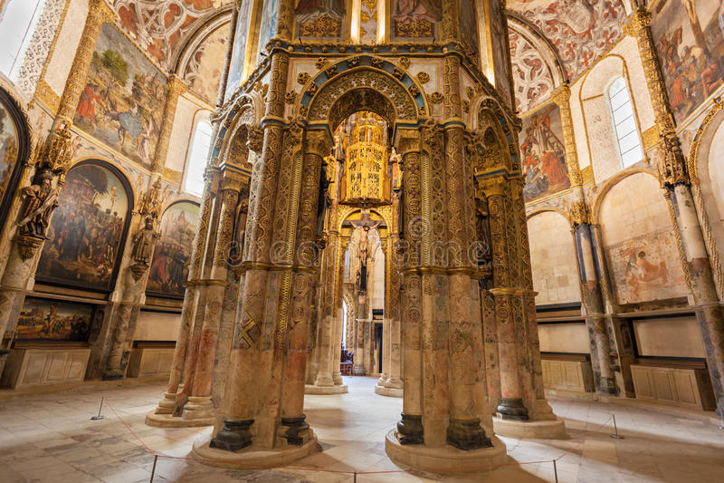 Convento del interior de Cristo foto de archivo libre de regalías