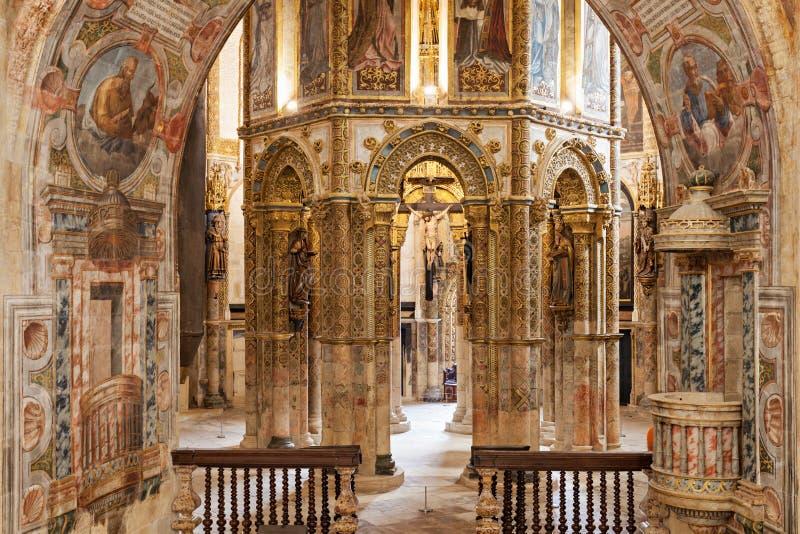 Convento del interior de Cristo fotografía de archivo
