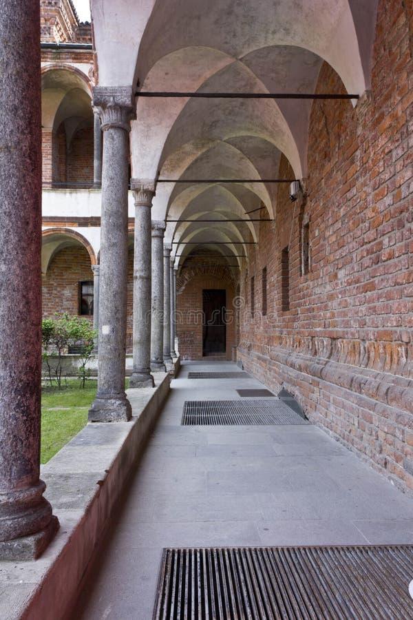 Convento del lavabo del UniversitàStatale fotografie stock libere da diritti
