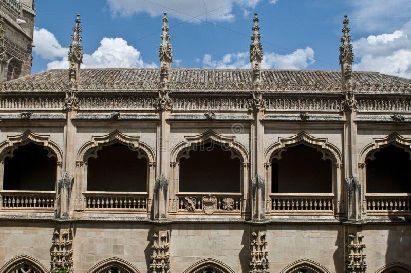 Convento del monastero, Toledo, Spagna immagine stock