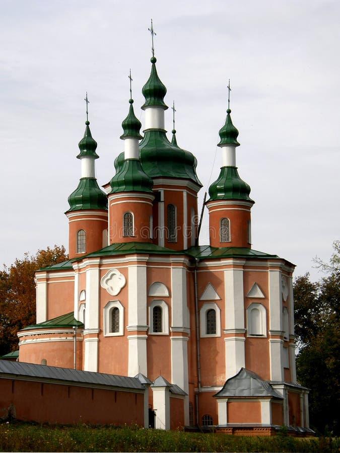 Convento di Gustyn dell'Ucraina immagini stock libere da diritti
