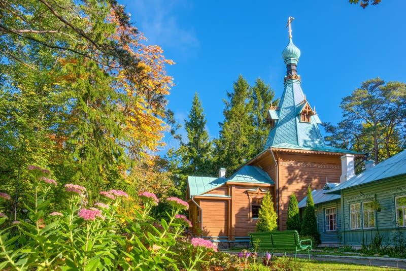 Convento di Kuremae Dormition L'Estonia fotografia stock libera da diritti