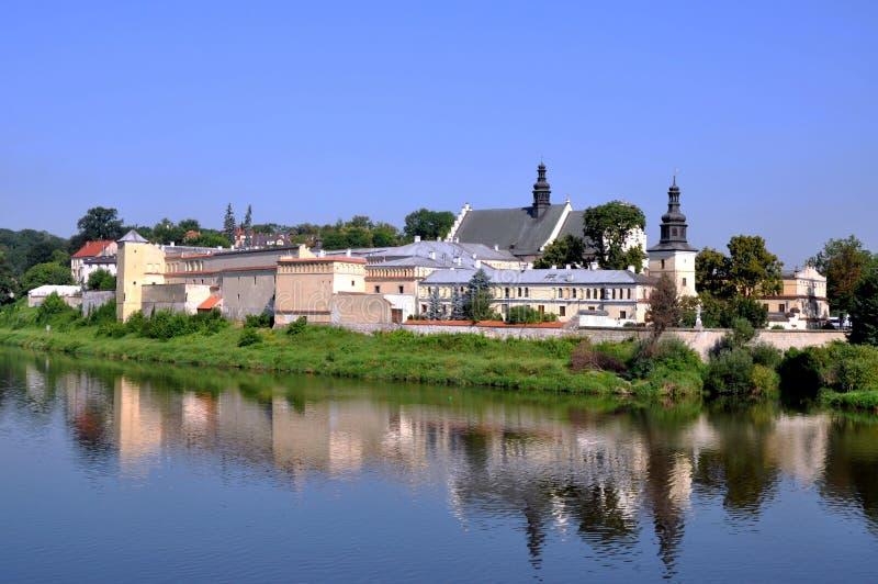 Convento di Norbertine Sisters a Cracovia, Polonia fotografie stock