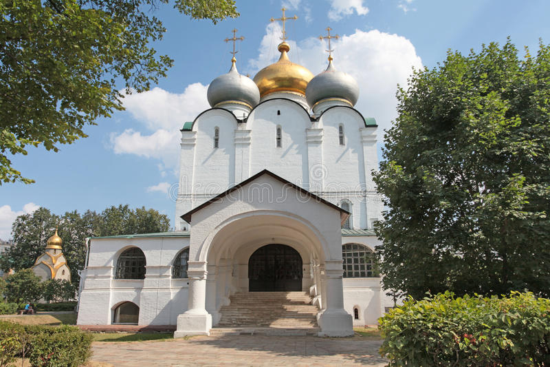 Convento di Novodevichiy, Mosca immagine stock