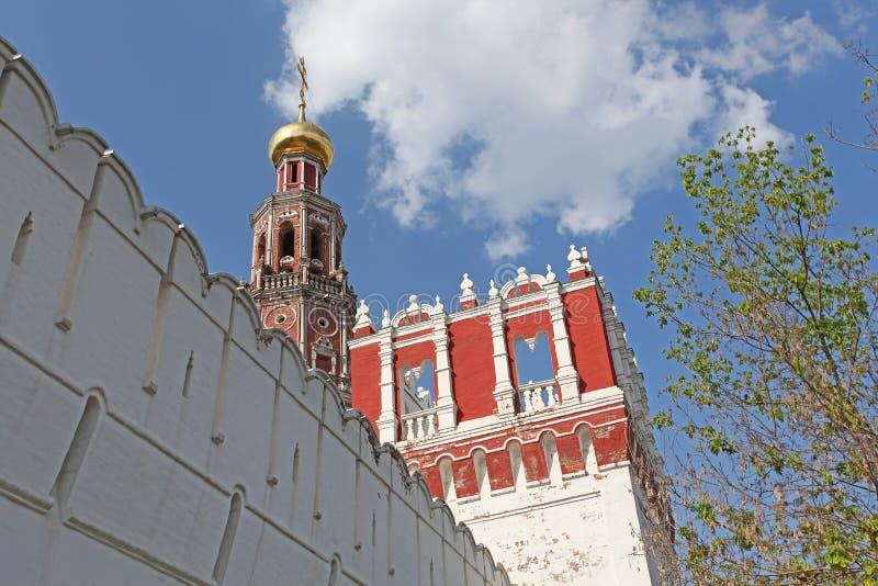 Convento di Novodevichiy, Mosca immagine stock libera da diritti