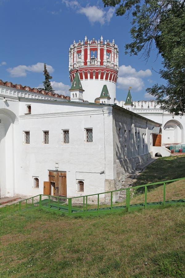 Convento di Novodevichiy, Mosca immagini stock libere da diritti