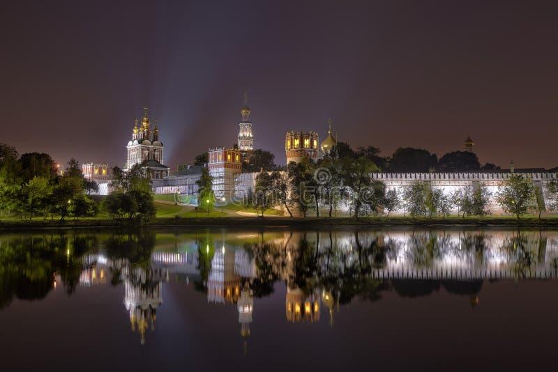 Convento di Novodevichy, anche conosciuto come il monastero di Bogoroditse-Smolensky fotografie stock libere da diritti