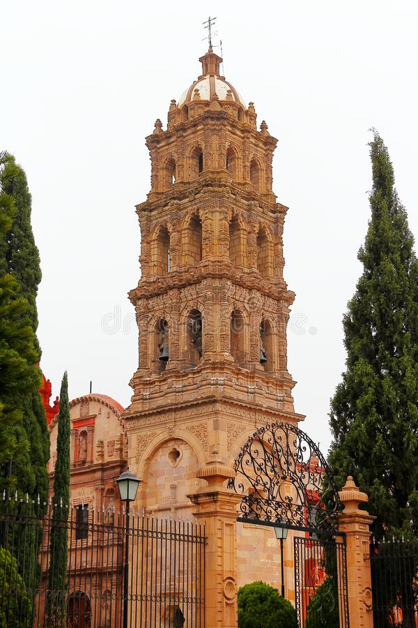 Convento di San Agustin, San Luis potosi I immagine stock libera da diritti