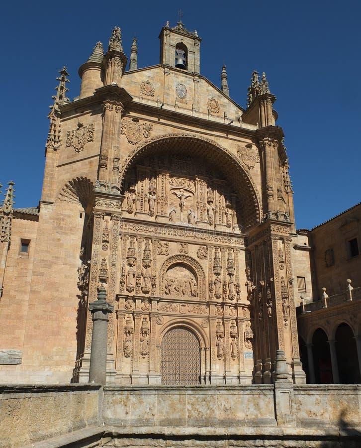 Convento di San Esteban fotografia stock libera da diritti