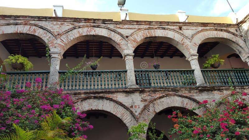 Convento do Cartagena - a Colômbia severos imagens de stock royalty free