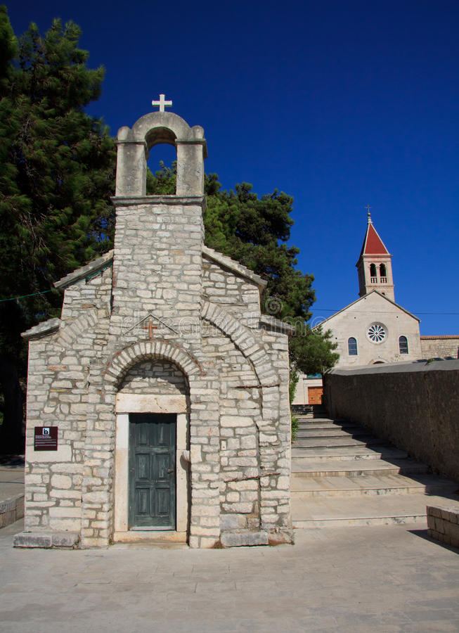 Convento domenicano immagine stock