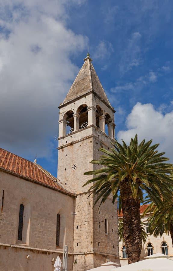 Convento domenicano in Traù, Croazia fotografie stock