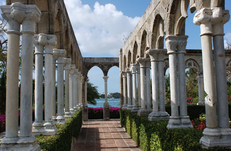 Convento interno immagine stock
