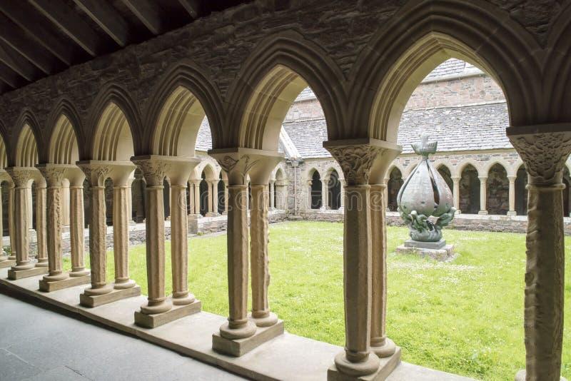 Convento Iona Abbey fotografia stock