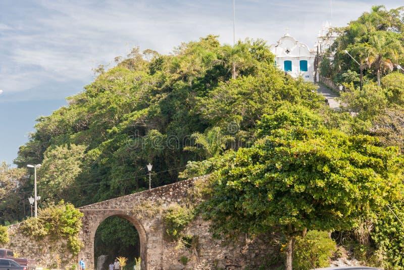 Convento Itanhaem di Nossa Senhora da Coneicao fotografia stock libera da diritti