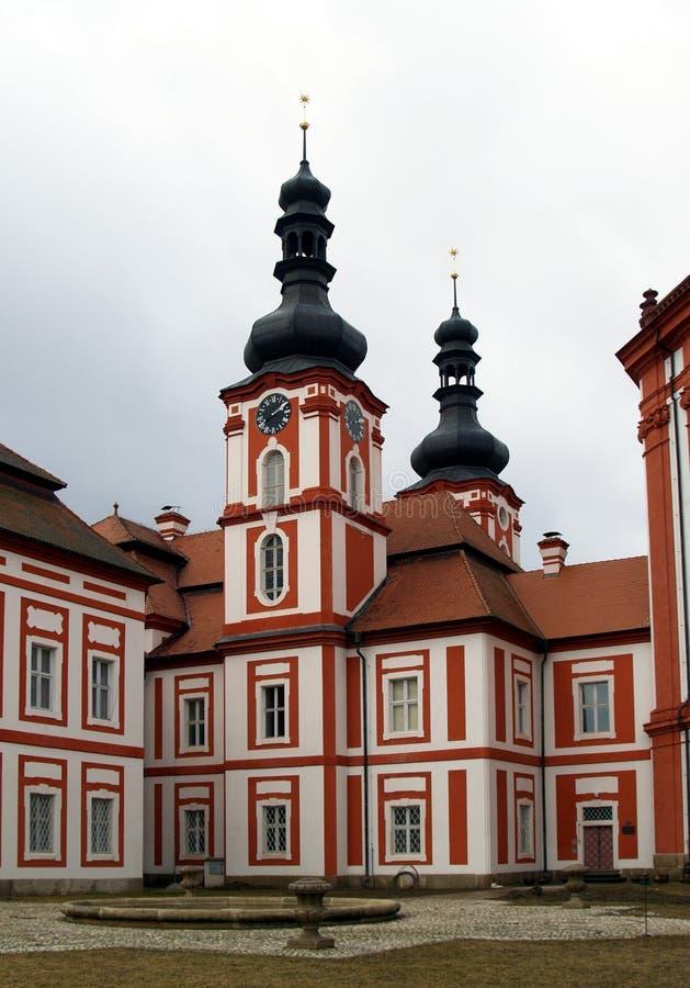 Convento Marianska Tynice - Repubblica ceca fotografie stock libere da diritti