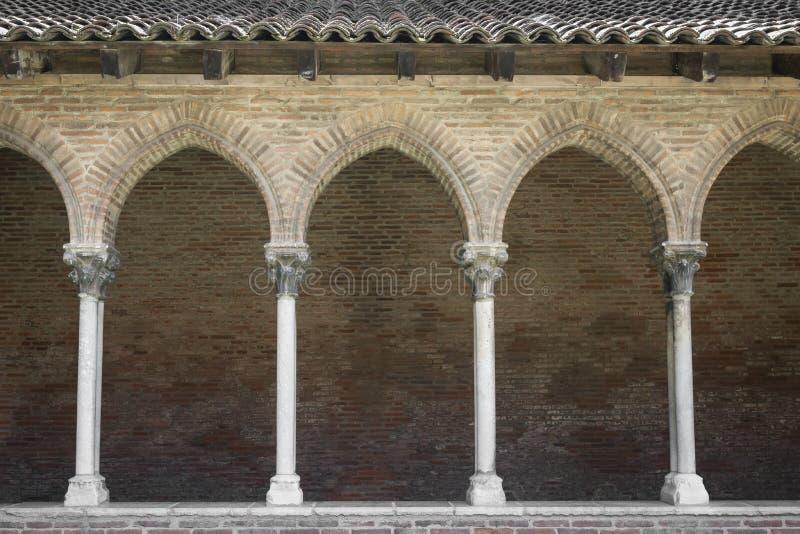Convento nel DES Jacobins di Couvent fotografia stock libera da diritti