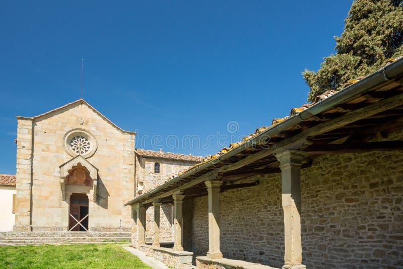 Convento San Francesco, Fiesole, Itália fotografia de stock