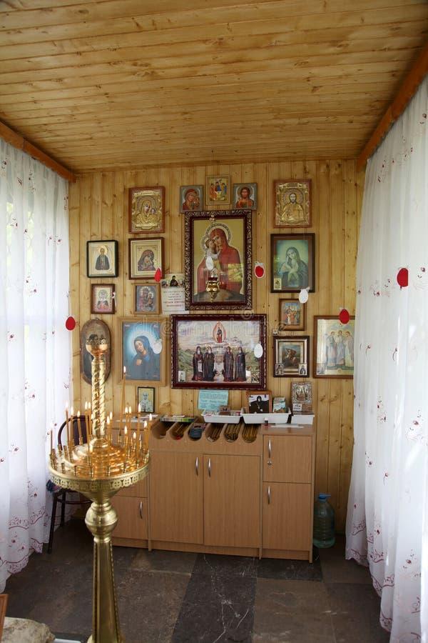 Convento santamente de Toplovsky Paraskeevsky Em uma capela imagem de stock