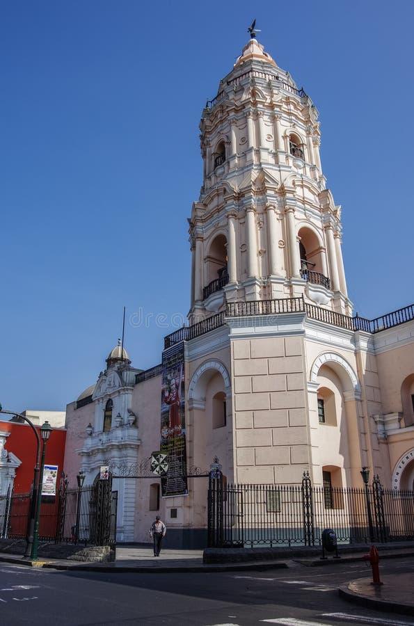 Convento Santo Domingo στη Λίμα, Περού στοκ εικόνες