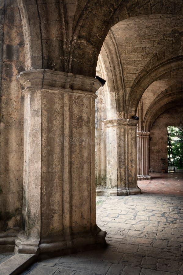 Convento spagnolo antico a vecchia Avana fotografia stock