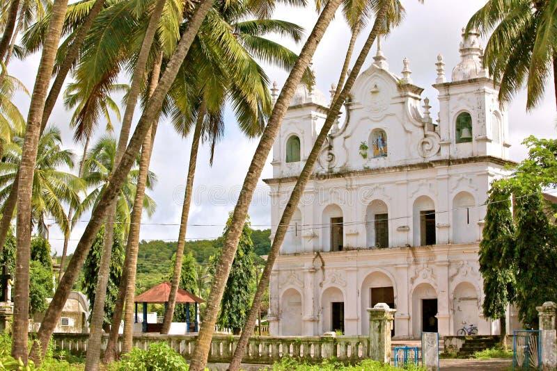 Conventos católicos antigos de Goa fotos de stock royalty free