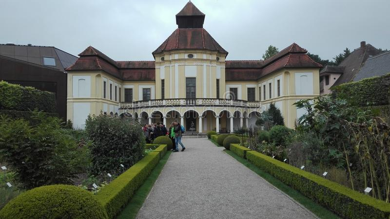 Conventpark stockbild