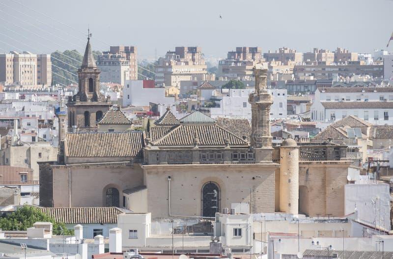 Conventual church of santa maria Montesión, Seville, Spain stock image