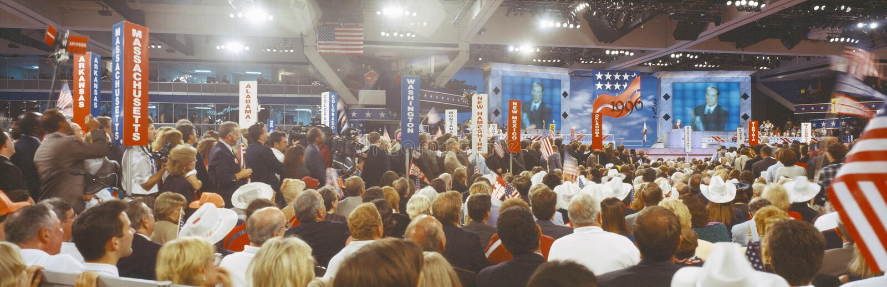 Convenzione nazionale repubblicana fotografia stock libera da diritti