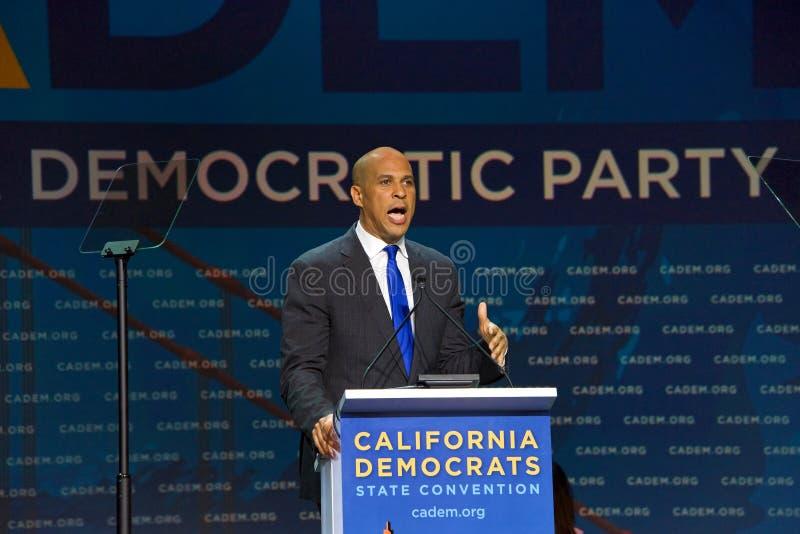 2019 convenzioni nazionali democratiche, San Francisco, California fotografia stock