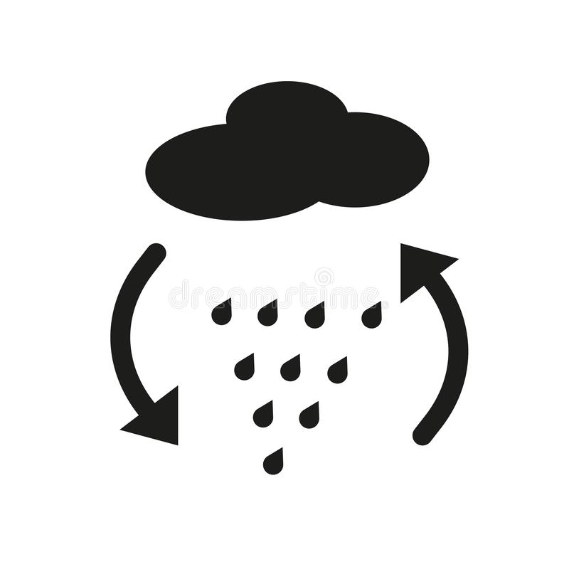 convergence icon. Trendy convergence logo concept on white background from Weather collection vector illustration