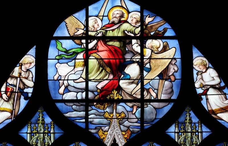 Conversão de St Paul o apóstolo fotografia de stock