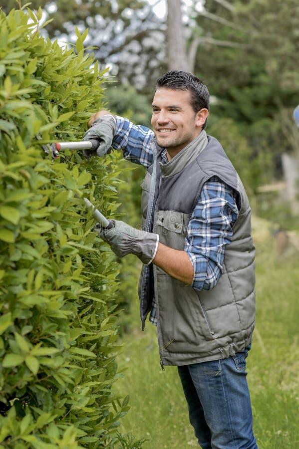 Conversão nova do corte do jardineiro fotos de stock royalty free