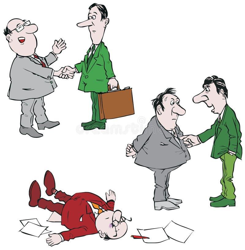 Conversações ilustração do vetor