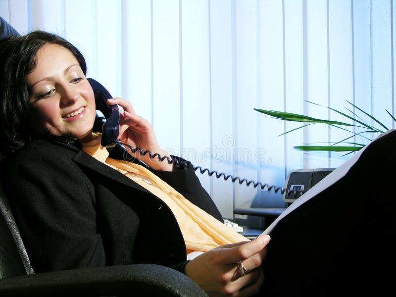 Conversa 3 do escritório imagens de stock royalty free