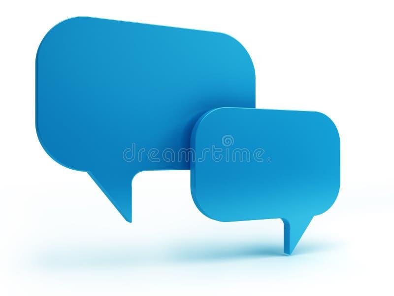 Conversa Da Bolha Imagem de Stock Royalty Free