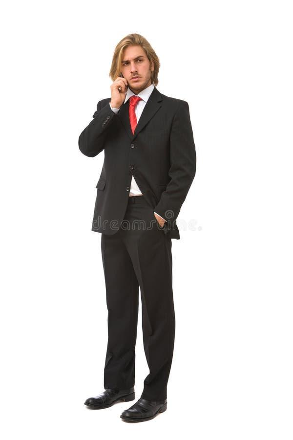 Conversa do negócio foto de stock