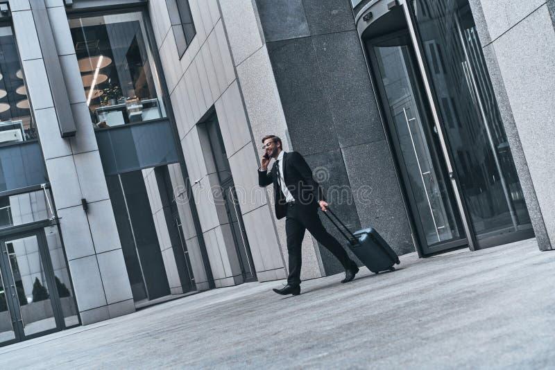 Conversa rápida do negócio imagem de stock royalty free
