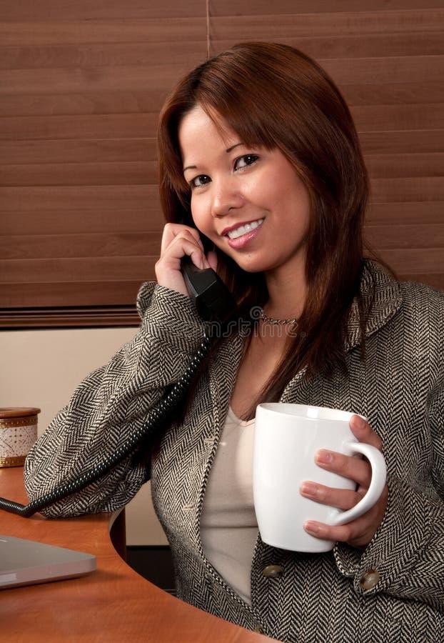 Conversa telefónica fotos de stock royalty free