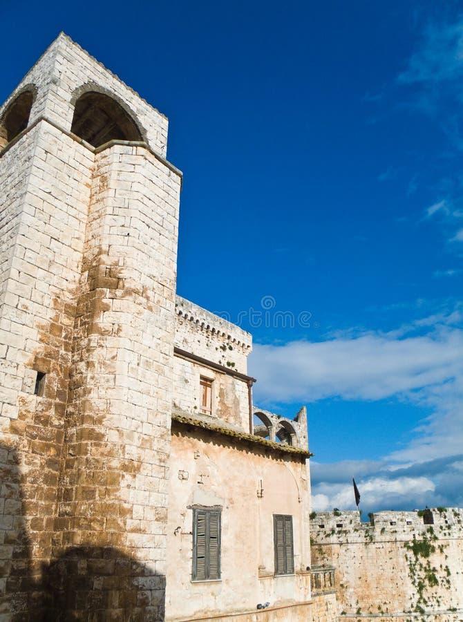 Conversano castle. Apulia. stock photo
