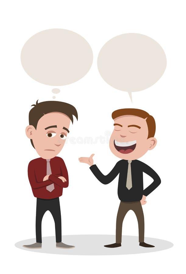 Download Conversation stock vector. Image of business, dislike - 26762622