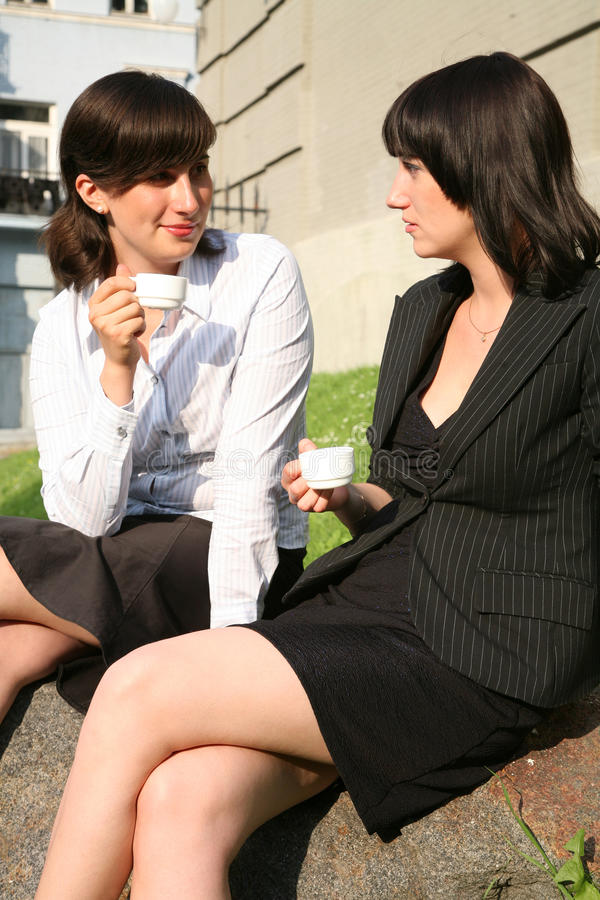 Download Conversation Of Women Royalty Free Stock Image - Image: 14630116