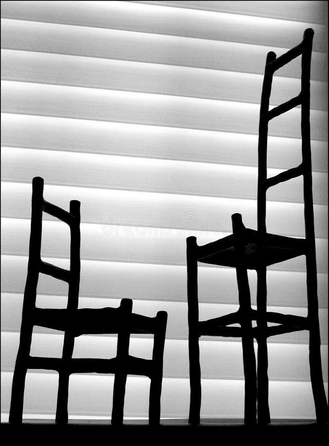 Conversations tranquilles image libre de droits