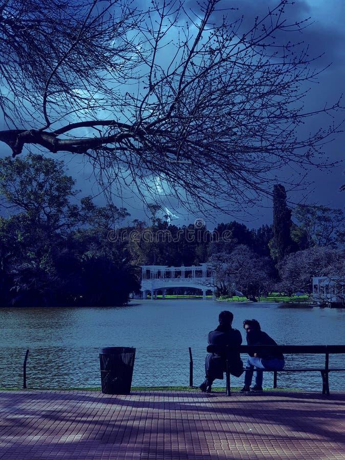 Conversazione del lago palermo fotografie stock libere da diritti