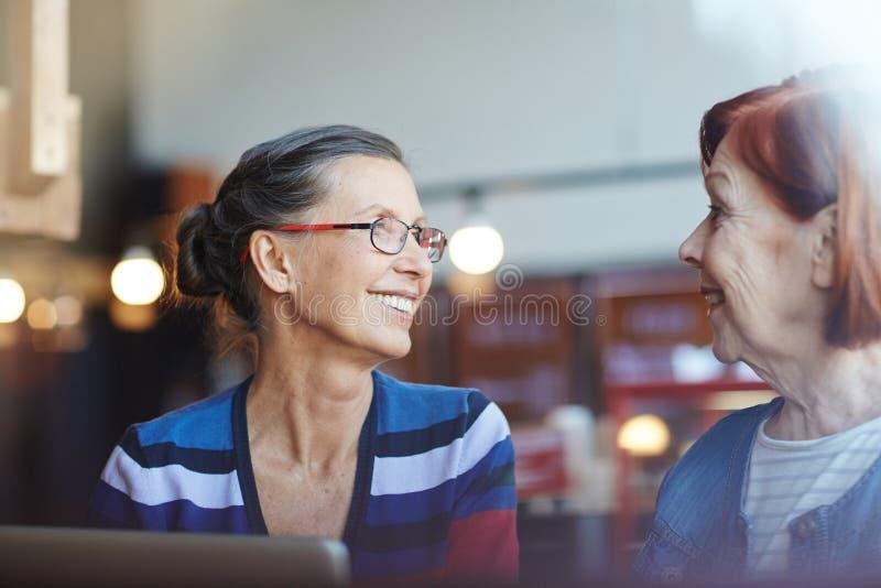 Conversazione delle donne immagine stock libera da diritti
