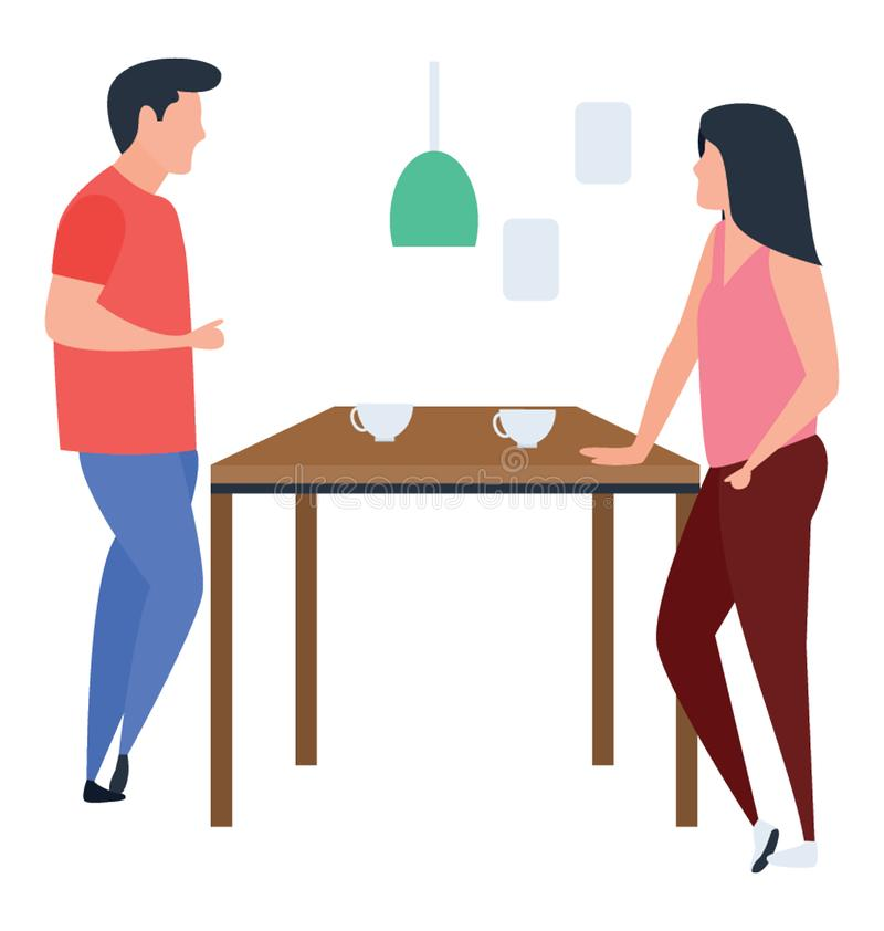 conversazione royalty illustrazione gratis