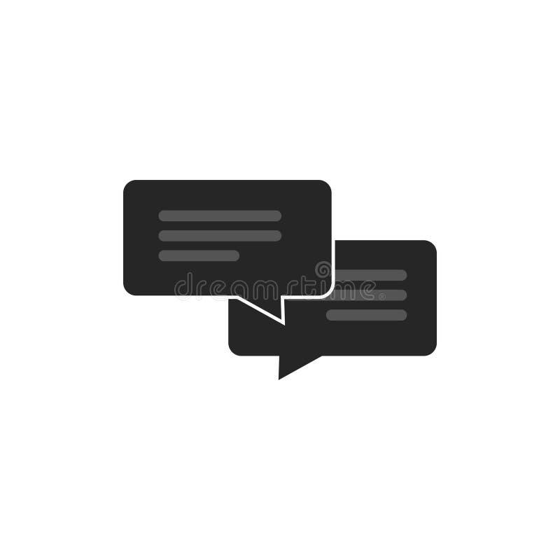 que te diviertas Unir carro  Converse O Vetor Do ícone Isolado, O Conceito Das Mensagens, Os Sms Ou O Símbolo  De Conversa Ilustração do Vetor - Ilustração de isolado, converse: 81243725