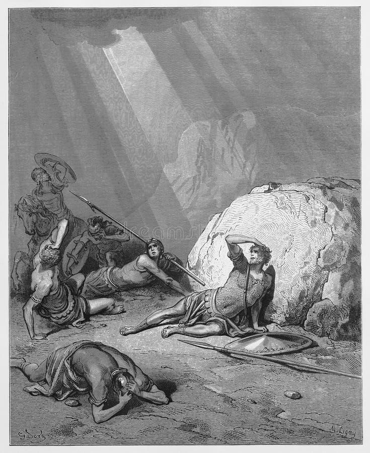 Conversión de Saul stock de ilustración